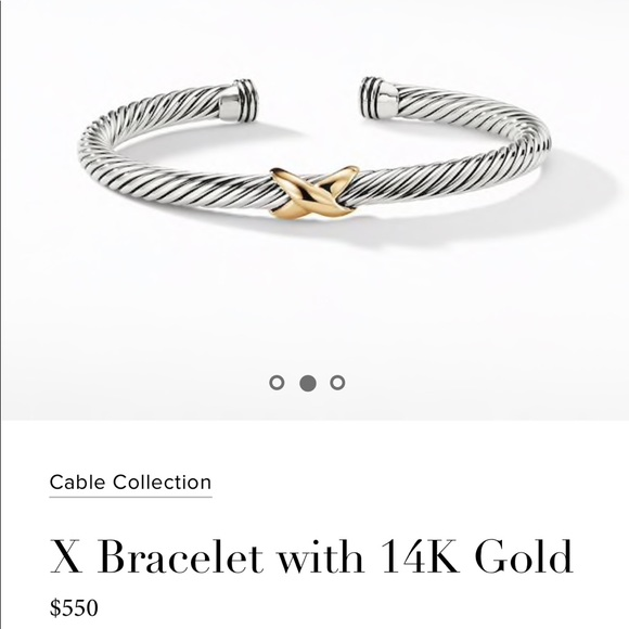 David Yurman Jewelry - David Yurman X Bracelet